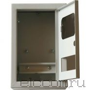 Щит металлический распределительно-учетный IP-31 ЩРУ-1Н-6, для учета (БУР) открытый