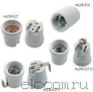 Электропатрон керамический Е-27 (с уголком)