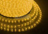 Дюралайт светодиодный, свечение с динамикой (3W), желтый, 220В, диаметр 13 мм, бухта 100м, NEON-NIGHT