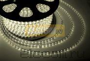 LED лента Neon-Night, герметичная в силиконовой оболочке, 220V, 13*8 мм, IP65, SMD 5050, 60 диодов/метр, цвет светодиодов теплый белый, бухта 50 метров
