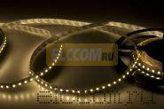 LED лента открытая, ширина 8 мм, IP23, SMD 3528, 120 диодов/метр, 12V, цвет светодиодов теплый белый