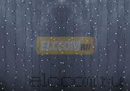 """Гирлянда """"Светодиодный Дождь"""" 2х6м, постоянное свечение, прозрачный провод, 220В, диоды БЕЛЫЕ, NEON-NIGHT"""
