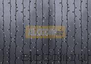 """Гирлянда """"Светодиодный Дождь"""" 2х6м, эффект водопада, черный провод, 220В, диоды БЕЛЫЕ, NEON-NIGHT"""