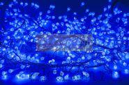 "Гирлянда ""Мишура LED"" 6 м 576 диодов, цвет синий"