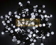 """Гирлянда """"LED - шарики"""", Ø17,5мм, 20 м, цвет свечения белый, 24В, Neon-Night"""