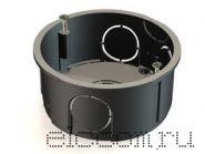 Коробка монтажная КМ 60 мм серая(подрозетник)