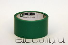 Скотч упаковочный 48мм х 50м зеленый 45мкм (72 шт/кор)