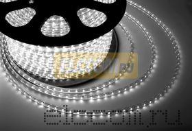 LED лента Neon-Night, герметичная в силиконовой оболочке, 220V, 13*8 мм, IP67, SMD 5050, 60 диодов/метр, цвет светодиодов белый, бухта 50 метров