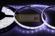 LED лента герметичная в силиконе, ширина 10 мм, IP65, SMD 5050, 60 диодов/метр, 12V, цвет светодиодов белый LAMPER