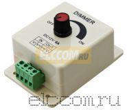 Диммер-регулятор для LED 12V DC, 8A,100W c разъёмами под винт NEON-NIGHT