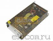 Источник питания компактный 12V DC, 16,5A, 200W с разъёмами под винт, без влагозащиты (IP23) REXANT