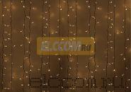 """Гирлянда """"Светодиодный Дождь"""" 2х3м, постоянное свечение, белый провод, 220В, диоды БЕЛЫЕ, NEON-NIGHT"""