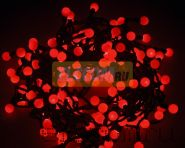 """Гирлянда """"LED - шарики"""", Ø17,5мм, 20 м, цвет свечения красный, 24 В, Neon-Night"""