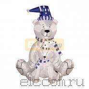 """3D фигура надувная """"Медлведица с медвежонком"""", размер 180 см, внутренняя подсветка 2 лампы, компрессор с адаптером 12В, IP 44 NEON-NIGHT"""