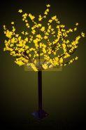 """Светодиодное дерево """"Сакура"""", высота 1,5 м, диаметр кронны 1,3м, желтые диоды, IP 44, понижающий трансформатор в комплекте, NEON-NIGHT"""